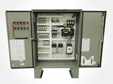Development of a Control Panel for an HVAC Motor Control
